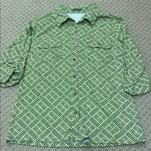 J.McLaughlin button down shirt, size M